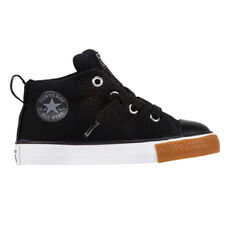 Converse Chuck Taylor All Star Street Toddlers Shoes Black / White US 4, Black / White, rebel_hi-res