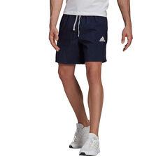 adidas Mens Gradient Logo Tee Navy S, Navy, rebel_hi-res
