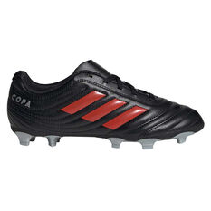 adidas Copa 19.4 Kids Football Boots Silver / Red US 11, , rebel_hi-res