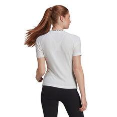 adidas Womens Karlie Kloss Tee White XS, White, rebel_hi-res