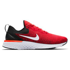 Nike Odyssey React Mens Running Shoes Red / Black US 7, Red / Black, rebel_hi-res