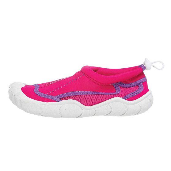 Seven Mile Junior Aqua Reef Shoes Pink US 12, Pink, rebel_hi-res