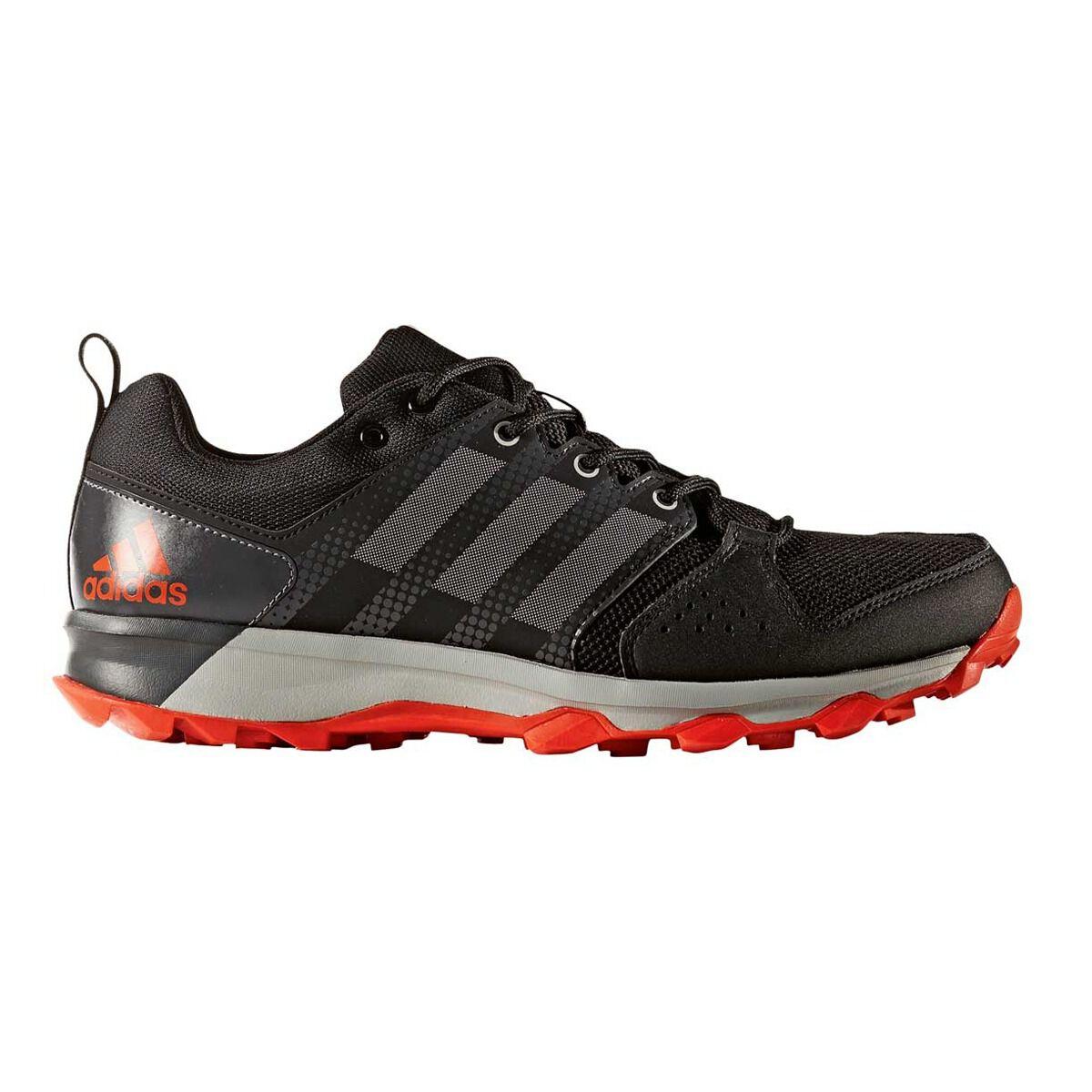 Adidas Galaxy Trail Hombres Zapatillas de trail corriendo negro / gris con nosotros