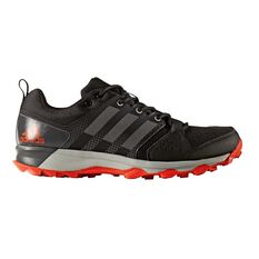 adidas Galaxy Trail Mens Trail Running Shoes Black / Grey US 7, Black / Grey, rebel_hi-res