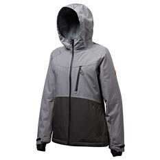 Tahwalhi Womens Wisla Jacket Grey / Black 8, Grey / Black, rebel_hi-res