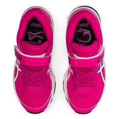Asics GT 1000 10 Kids Running Shoes, Pink/White, rebel_hi-res