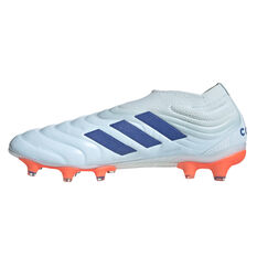 adidas Copa 20+ Football Boots White/Blue US Mens 8 / Womens 9, White/Blue, rebel_hi-res