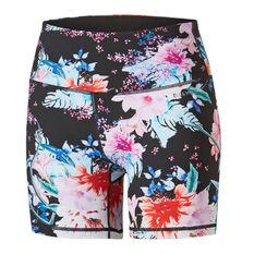 Ell & Voo Womens Anabelle 5 Inch Printed Shorts, Print, rebel_hi-res