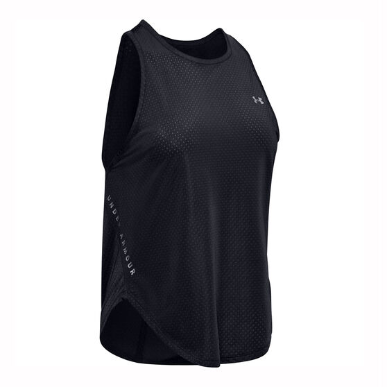 Under Armour Womens Armour Sport Graphic Tank, Black, rebel_hi-res