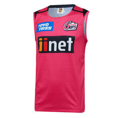 Sydney Sixers 2019/20 Mens Training Singlet, Magenta, rebel_hi-res