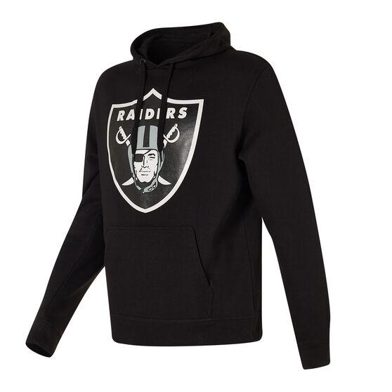 Oakland Raiders 2021 Mens Prism Hoodie, Black, rebel_hi-res