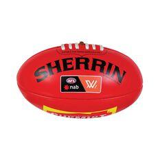 Sherrin AFLW Mini Replica Game Ball Red 3, , rebel_hi-res