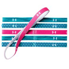 Under Armour Graphic Headbands Teal OSFA, , rebel_hi-res