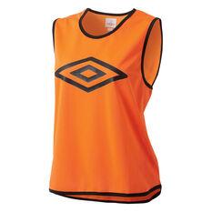 Umbro Training Bib Orange Youth, Orange, rebel_hi-res