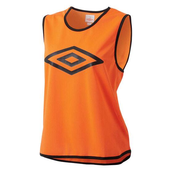 Umbro Training Bib, Orange, rebel_hi-res