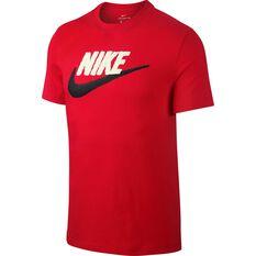 Nike Mens Sportswear Brand Mark Tee Red XS, Red, rebel_hi-res