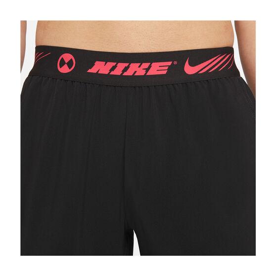 Nike Mens Sports Clash Training Pants, Black, rebel_hi-res