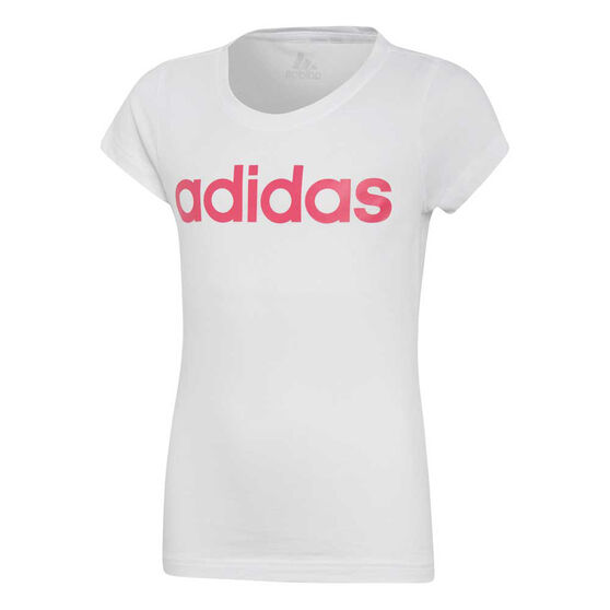 adidas Girls Essentials Linear Tee, , rebel_hi-res