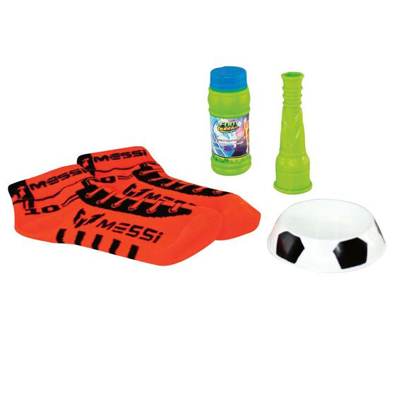 Funtastic Messi Footbubbles Starter Kit Red, , rebel_hi-res