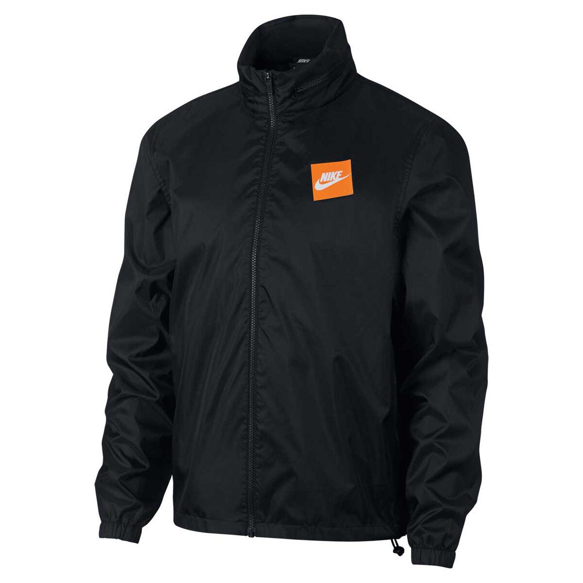 Nike Mens Sportswear Just Do It Woven Jacket Black L