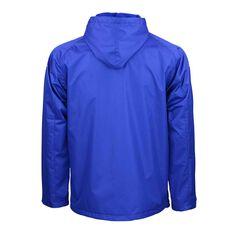 Canterbury Bulldogs Mens Wet Weather Jacket Blue, Blue, rebel_hi-res