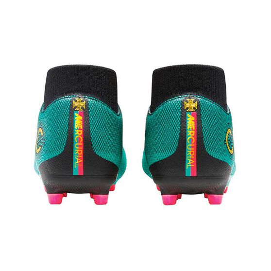 668186716e9ab0 Nike Superfly 6 Academy CR7 MG Mens Football Boots Green   Gold US 7 Adult