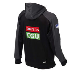 Collingwood Magpies 2020 Mens Squad Hoodie Black S, Black, rebel_hi-res