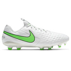 Nike Tiempo Legend VIII Elite Football Boots White US Mens 4 / Womens 5.5, White, rebel_hi-res
