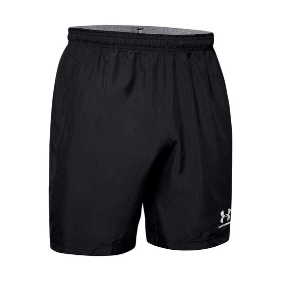 Under Armour Mens Accelerate Premier Shorts, Black, rebel_hi-res