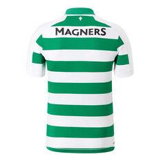 Celtic FC 2019/20 Mens Home Jersey White / Green S, White / Green, rebel_hi-res