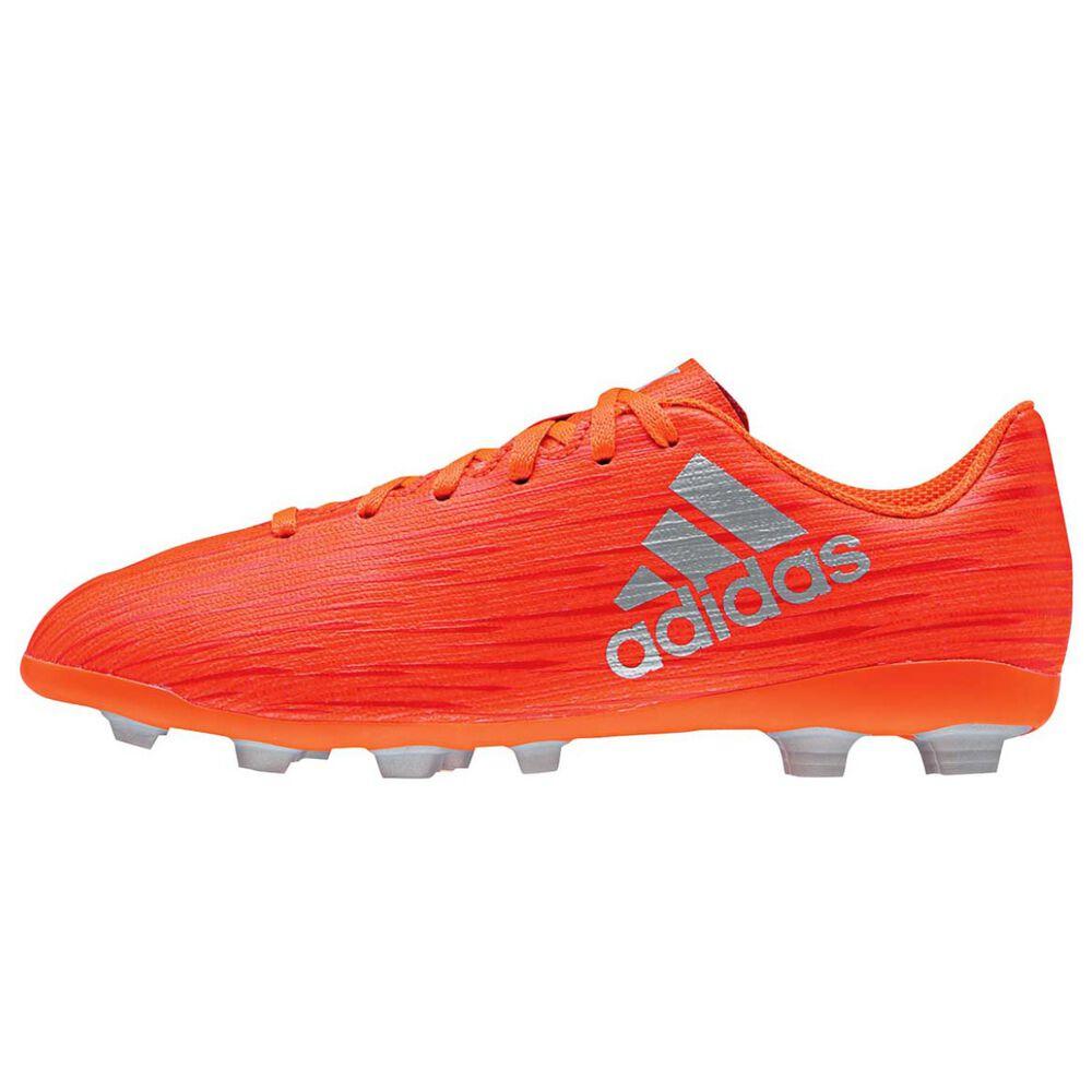 63561981973d adidas X 16.4 Junior Football Boots Red   Silver US 2 Junior