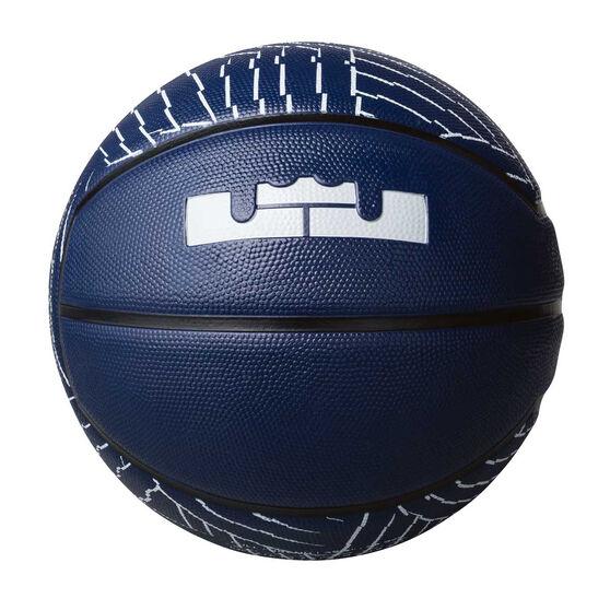 detailed look dafe4 709ed ... Nike LeBron Playground Basketball 7, , rebel hi-res ...
