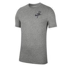 Nike Mens Dri-FIT Training Tee, Grey, rebel_hi-res