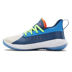 Under Armour Curry 7 Kids Basketball Shoes Multi US 11, Multi, rebel_hi-res