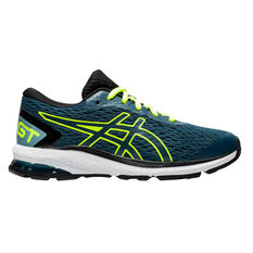Asics GT 1000 9 Kids Running Shoes Teal US 4, Teal, rebel_hi-res