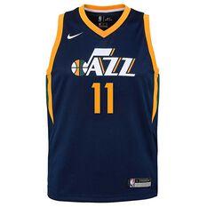 Nike Utah Jazz Dante Exum Icon Kids Swingman Jersey College Navy S, College Navy, rebel_hi-res