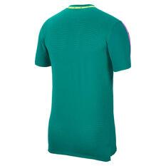 Nike Mens Wild Run Tee Green M, Green, rebel_hi-res