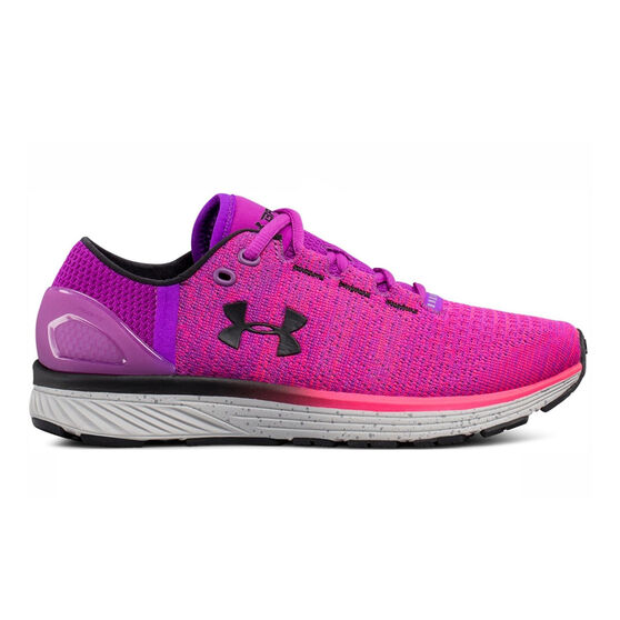 166c887f2c Under Armour Charged Bandit 3 Womens Running Shoes Purple / Pink US 7.5