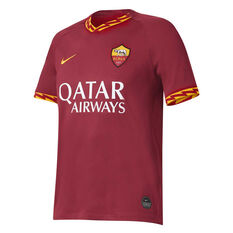 AS Roma 2019/20 Mens Home Jersey, Maroon, rebel_hi-res