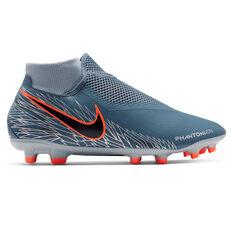 Nike Phantom Vision Academy Dynamic Fit Football Boots, Blue / Black, rebel_hi-res