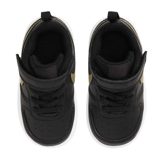 Nike Court Borough Low 2 Toddlers Casual Shoes, Black, rebel_hi-res