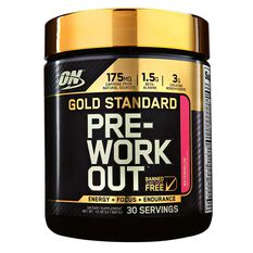 Optimim Nutrition Gold Standard Watermelon Pre Workout 30 Serves, , rebel_hi-res