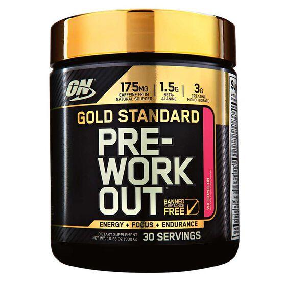 Optimim Nutrition Gold Standard Watermelon Pre Workout 30 Serves, , rebel_hi-res