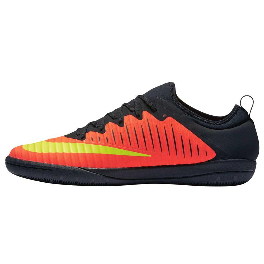 78f08ab891fe Nike MercurialX Finale II Mens Indoor Soccer Shoes Crimson   Volt US 12  Adult