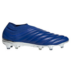 adidas Copa 20+ Football Boots Blue/Silver US Mens 8 / Womens 9, Blue/Silver, rebel_hi-res