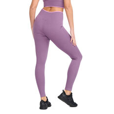 2XU Womens Engineered Tights Purple XS, Purple, rebel_hi-res