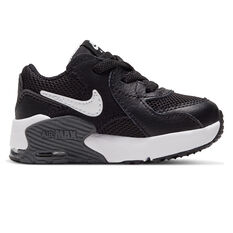 Nike Air Max Excee Toddlers Shoes Black/White US 4, Black/White, rebel_hi-res