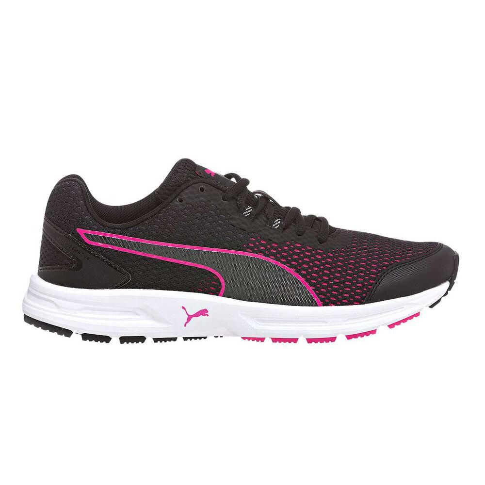 a125afb994c3 Puma Descendant V4 Womens Running Shoes Black   Pink US 8.5