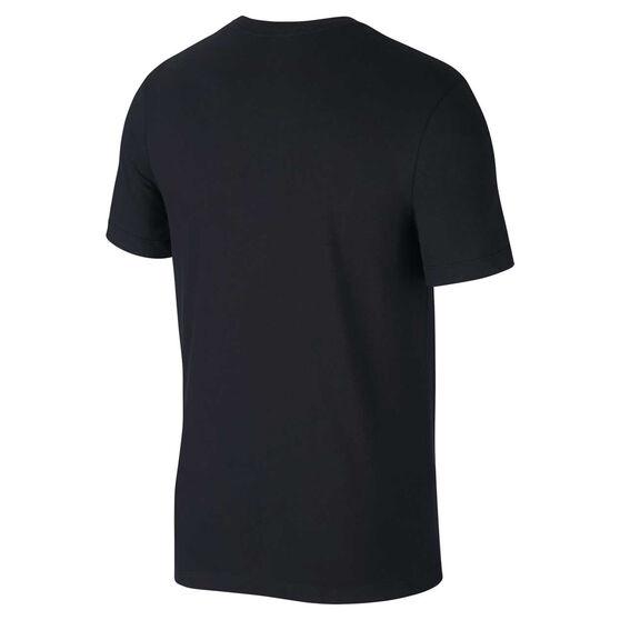 Nike Mens Dri-FIT Running Tee, Black, rebel_hi-res