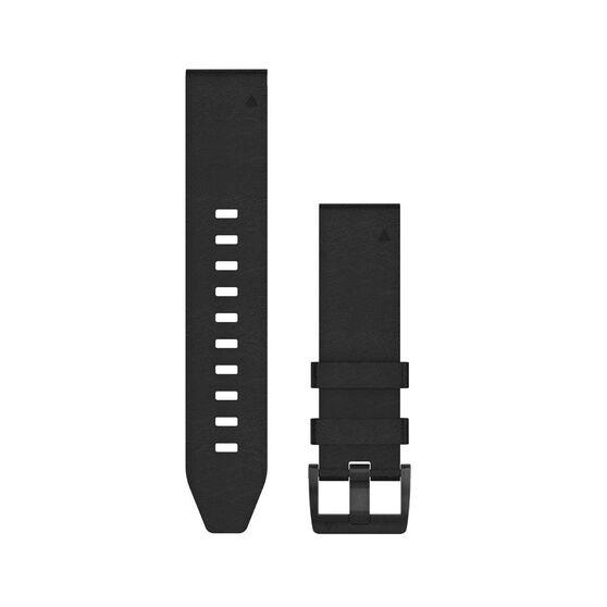 Garmin QuickFit 22mm Leather Adjustable Watch Band, , rebel_hi-res
